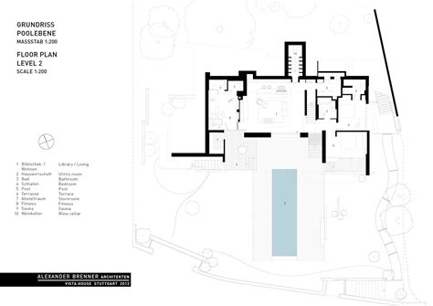 Houseplans Gallery Of Vista House Alexander Brenner Architects 19