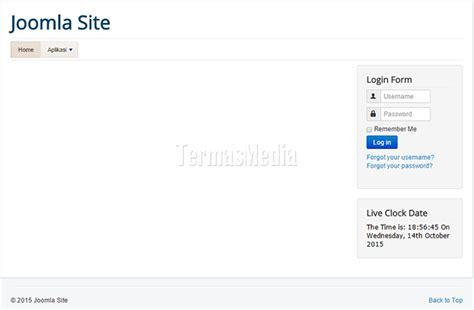 beez3 template mengganti template di website joomla