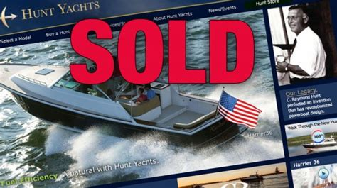 hinckley yachts david howe hunt yachts purchased by investment firm new england