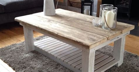 reclaimed scaffold board coffee table perfect addition to any decor shabby chic industrial