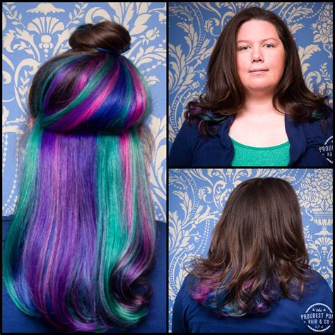 Peek A Boo Hairstyle by Peek A Boo Hair Epic Hair Hair Coloring