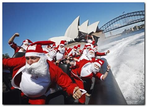 christmas in australia bondi beach nsw my les paul