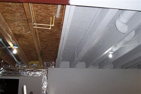 Painting Basement Ceilings by 20 Cool Basement Ceiling Ideas Hative
