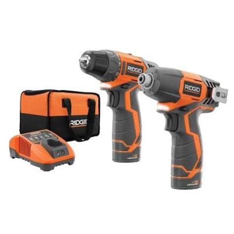 ridgid 12 volt lithium ion cordless drill driver and