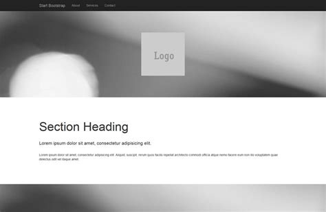 full width pics a bootstrap 3 website template featuring