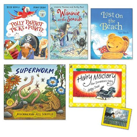 scholastic picture books summer picture books pack x 5 scholastic club