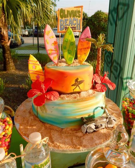 themed birthdays ideas beach themed birthday party ideas home party ideas