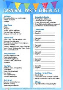 dd 3 5 template list carnival birthday checklist free