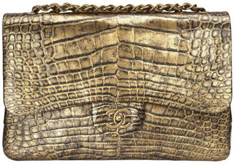 Bag C Nel Classic chanel classica flap bag in coccodrillo oro notizie it