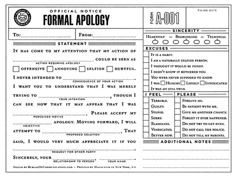 Formal Apology Letter Voldemort Formal Apology I N F O R M A T I O N 2 S H A R E