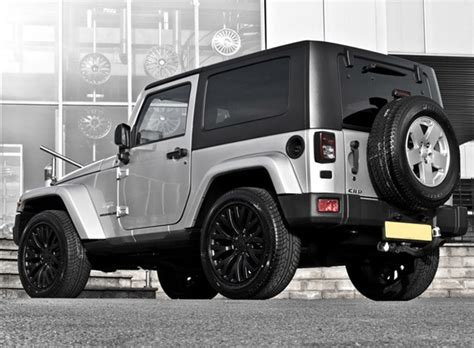 kahn jeep interior project kahn launches silver jeep wrangler autoevolution