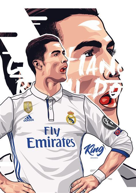 Cristiano Ronaldo Cartoon Wallpaper   Adultcartoon.co