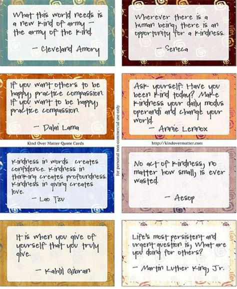 Printable Kindness Quotes | kindness quotes printable kindness quotes pinterest