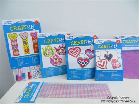 kids craft room with baker ross day craft with baker ross et speaks from home