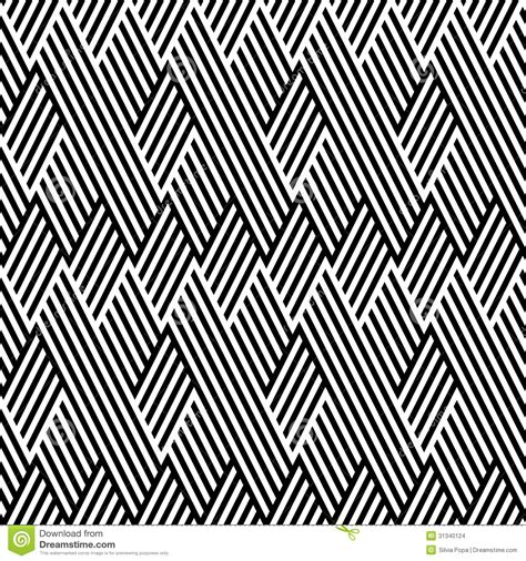 zigzag pattern line pattern with line black and white stock illustration