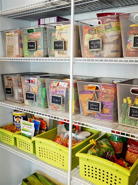 organize or organise 10 steps to an organized pantry hgtv