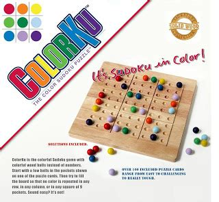 puzzle with every color the best nest colorku the coolest game on the block