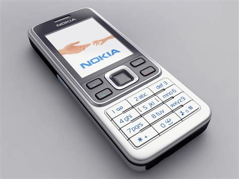 Nokia 6300 Gsm By Pedia Cellular nokia 6300 3d model