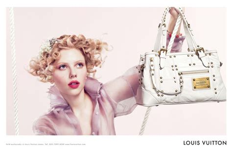Johanssons New Louis Vuitton Pics by Morning Johansson Louis Vuitton Bag 광고