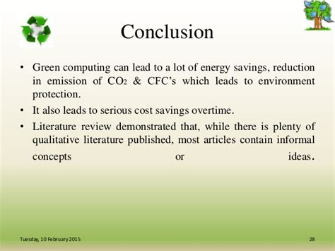 green computing research papers green business process management ppt