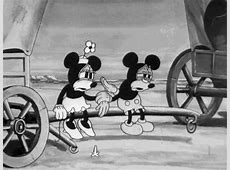 black and white covered wagon gif   WiffleGif Mickey And Minnie Mouse Tumblr Black And White