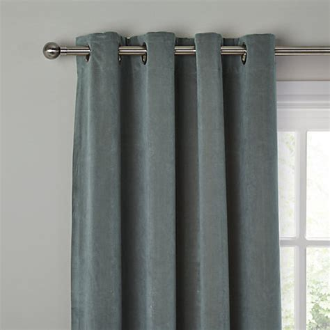 thermal lined eyelet curtains buy john lewis erba single thermal lined eyelet door