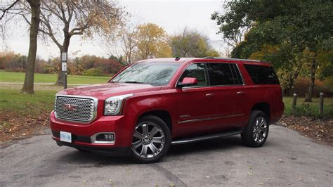 gmc yukon red review 2015 gmc yukon denali xl canadian auto review