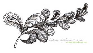 Gumleaves Pattern  A Super Easy One sketch template