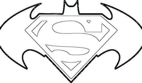 printable batman logo coloring pages batman vs superman logo coloring pages colouring for good