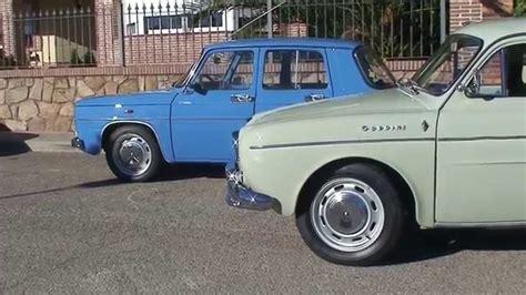 renault 8 ts y gordini