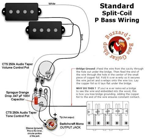 fender pj bass wiring diagram circuit and schematics diagram