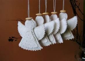 engel dekoration engel zum basteln ideen f 252 r die deko adventskalender