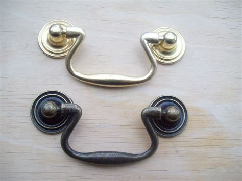 drop pull cabinet hardware small antique brass cupboard cabinet drop pull