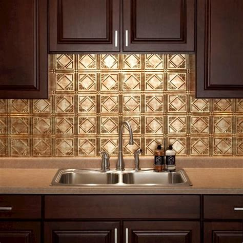 fasade traditional 4 18 quot x 24 quot pvc backsplash panel at