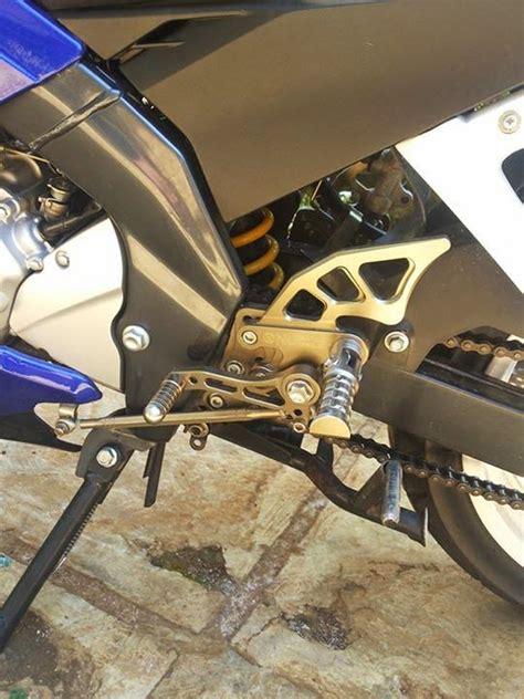 Sirip Footstep Depan Yzf R15 Ori Yamaha mengakali pemasangan underbone nui pada new vixion