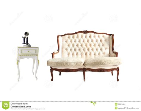 white vintage couch vintage sofa isolated on white stock photo image of
