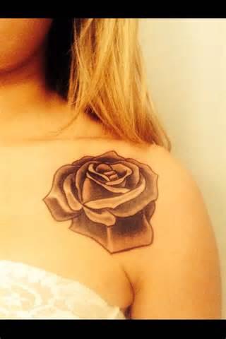 Rose tattoo flower tattoos pinterest
