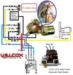 wiper motor wiring corvetteforum chevrolet corvette forum discussion