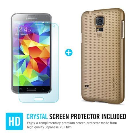 Spigen Screen Protector Samsung Galaxy S5 Steinheil Ultra Oleophobic spigen custodia ultra fit shell per samsung galaxy s5