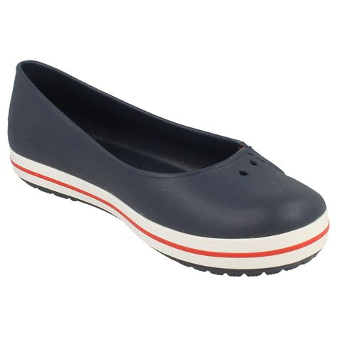 Crocs Flat femmes crocs flat ballerina crocband plat quot ebay