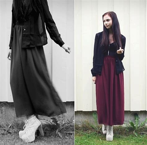 Gamis Polos Maxi Maroon kathrine sr american apparel maxi skirt jeffrey cbell heels bikbok top weekday shirt