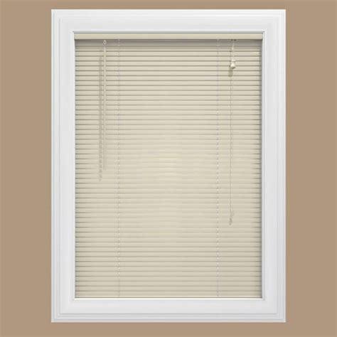 home depot bid room 2 bali cut to size alabaster 1 in room darkening vinyl mini blind 36 in w x 48 in home