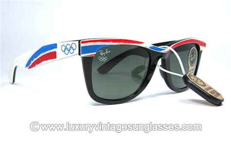 Eiger 1989 Goldfish Glasses Black Ban Sunglasses 1989 Olympic Gallo