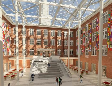 library modernization by bci for roosevelt high school