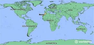 Morocco World Map by Where Is Morocco Where Is Morocco Located In The World