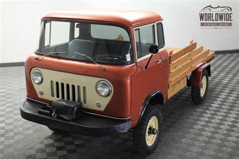jeep fc 170 forward control restored 1958 willys jeep fc170 bring a