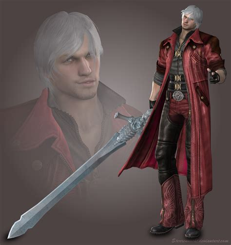 mod the sims dante devil may cry 4 dante devil may cry 4 by sterrennacht on deviantart