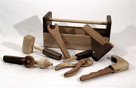 wooden tools wooden toolbox and tools by easy to love inhabitots