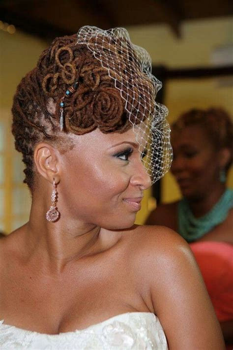 bridal hairstyles dreadlocks wedding styles for natural hair and locs