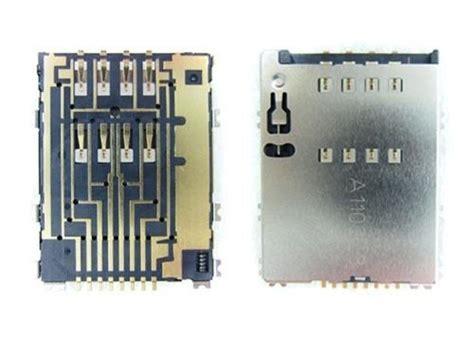 Connector Sim Samsung P5100 S5250 P7500 conector original sim chip samsung s5250 p5100 p6800 p7500